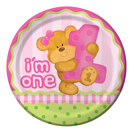 יום הולדת שנה - הדובי שלי בנות