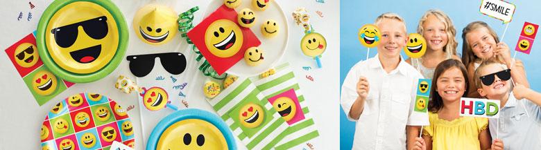 כלים חד פעמיים Emoji | מסיבת Emoji