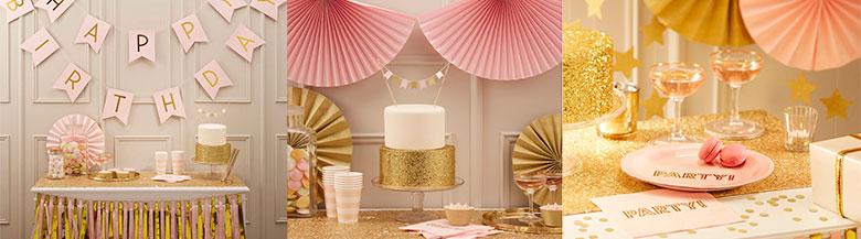 מסיבה Pink & Gold