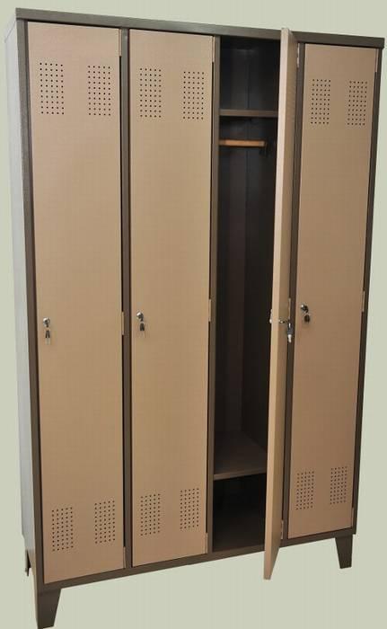 ארון הלבשה 4 דלתות לכל הגובה