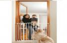 שער גבוה ורחב לכלבים ללא קידוח דגם SH 2