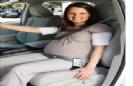 תפס חגורת בטיחות לנשים בהריון
