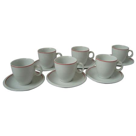סט קפה ל- 6 איש דגם 664