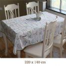 """מפת שולחן במידות 220/140 ס""""מ דגם 207"""