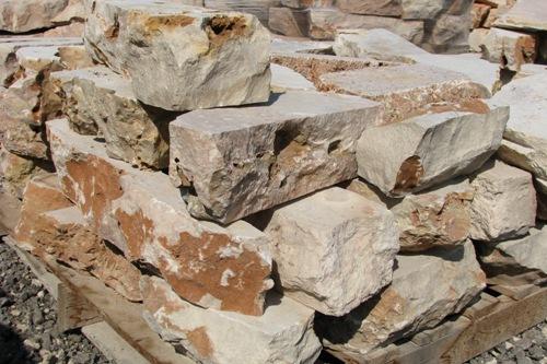 אבן מסלעה לקט מנוסר