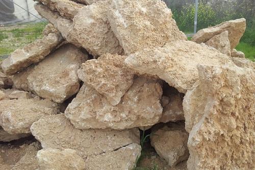 סלע כורכר שטוח
