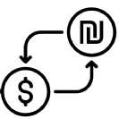 "uChange - אפליקציה בחינם להמרת מט""ח חברתית של סטארטאפ ישראלי"