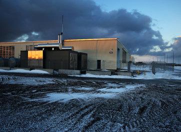 מתחם הכרייה המאובטח באיסלנד