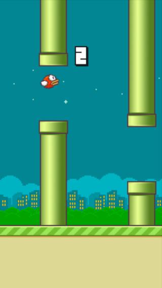 מסך Flappy Bird