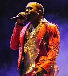הזמר Kanye West