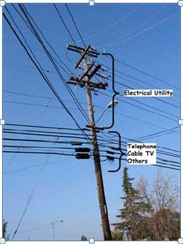 רשתות שונות על עמו חשמל