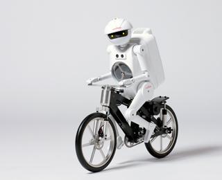 רובוט על אופניים