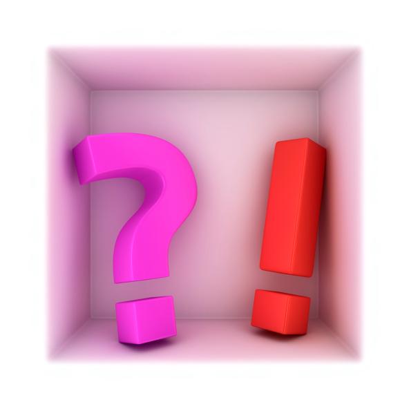 סימן שאלה וסימן קריאה