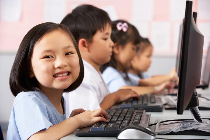 ילדים בקוריאה