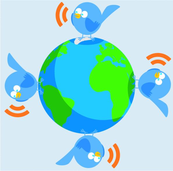 טוויטר סביב העולם