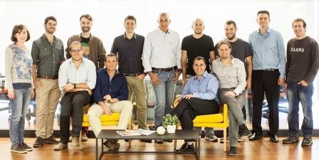 הצוות של החברה Team8