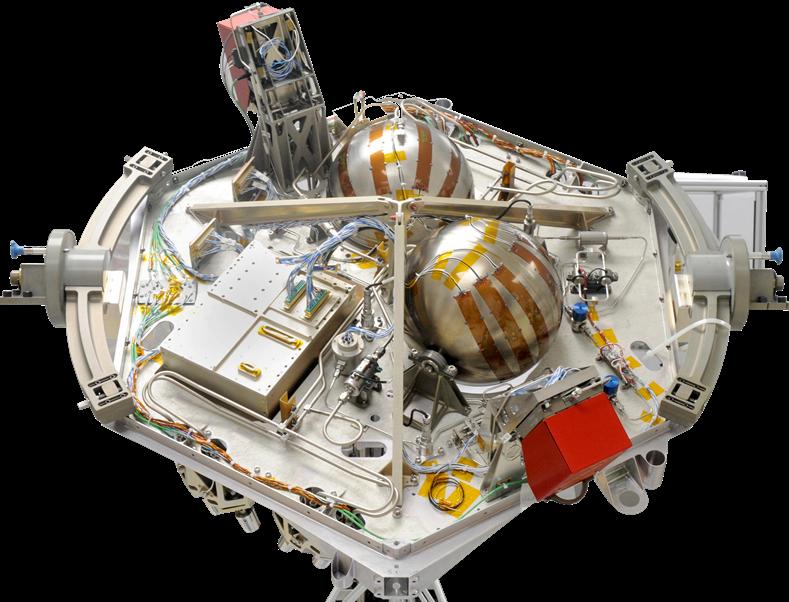 Venus - Dual Propulsion System (Hydrazine & Electr