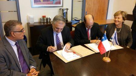 הסכם עם צ'ילה