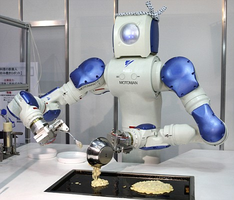 רובוט מבשל