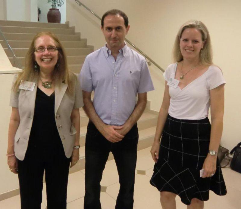 המרצים בכנס AVIOS ישראל