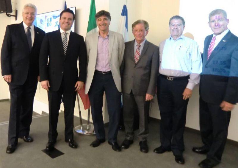 מפגש צמרת מדינת חליסקו ממקסיקו - בישראל