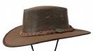 כובע אוסטרלי דגם 1057 - קנבס דרובר (עם שרוך סנטר) חום