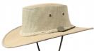 כובע אוסטרלי דגם 1057 - קנבס דרובר (עם שרוך סנטר) בז'