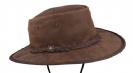 כובע אוסטרלי דגם 1063HI פולדווי סדלר (שרוך סנטר) אגוז