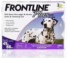 """אמפולות טיפות פרונטליין  20-40 ק""""ג כלבים אמפולות לפרעושים וקרציות"""