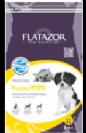 """פלטזור Flatazor מזון לגורים מגזע קטן, מתאים גם לכלבות מניקות ואו בהריון. כופתיות קטנות המותאמות במיוחד. לשיניים ולחניכיים משקל 3 ק""""ג"""