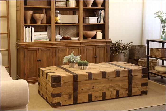 שולחן סלון - מזוודה