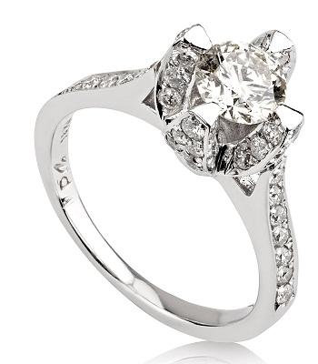 טבעת אירוסין מיוחדת - Jackie