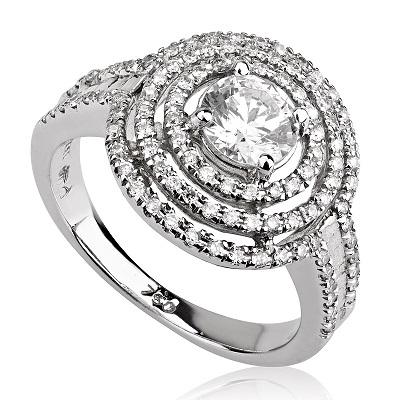 טבעת אירוסין מיוחדת - Spiral