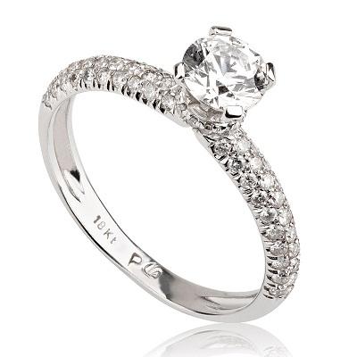 טבעת אירוסין מיוחדת - Moran