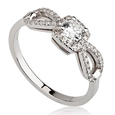 טבעת אירוסין מיוחדת - Drop
