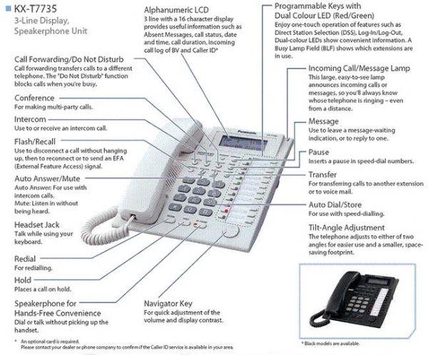 טלפון פנסוניק