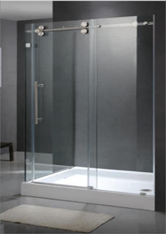 מקלחון 2 דלתות הזזה CNC