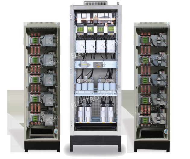 לוחות חשמל מתח נמוך מערכות קבלים
