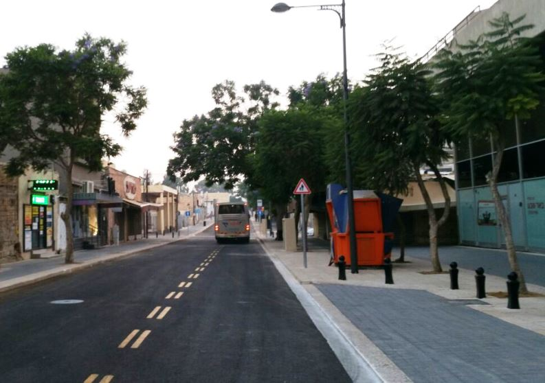 רחוב החלוץ נפתח לתנועה