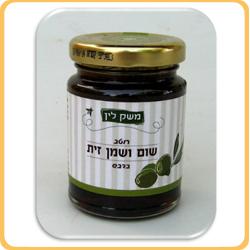 רוטב שום ושמן זית בדבש