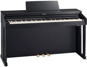 ROLAND HP-503SB פסנתר חשמלי שחור - SALE