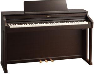 ROLAND HP-505RW פסנתר חשמלי צבע חום