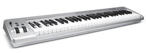 M-Audio Keystation 61es מקלדת שליטה MKII