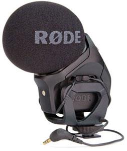 Stereo VideoMic Pro RODE