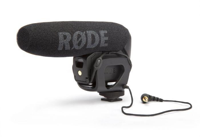 מיקרופון וידאו מקצועי למצלמה עם מתקן RODE VIDEO MIC PRO RYCOTE- VMPR