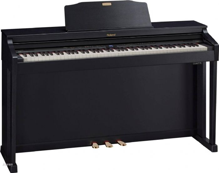 פסנתר חשמלי נייח ROLAND HP504 CB - מחיר סייל