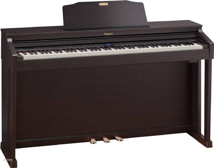 פסנתר חשמלי נייח ROLAND HP504 RW - מחיר סייל