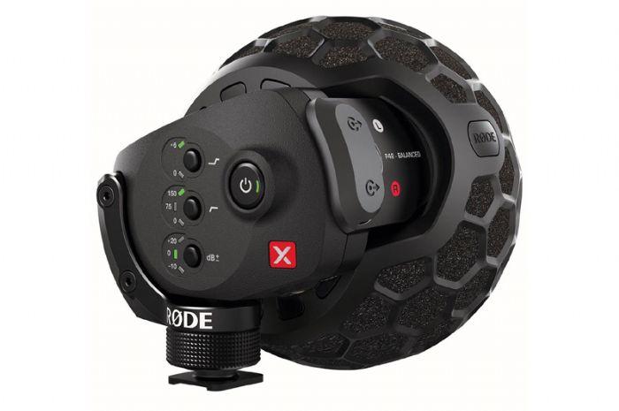 מיקרופון מקצועי למצלמות RODE VMX  סטיראו