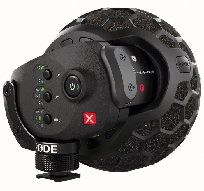 RODE SVMX מיקרופון סטיראו למצלמות