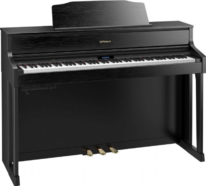 פסנתר חשמלי נייח ROLAND HP605-CB BLACK